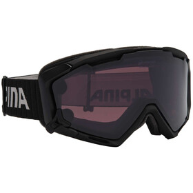 Alpina Panoma S Magnetic Q+S S1+S3 goggles zwart